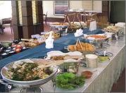 グランド クラブハウス 食事の写真
